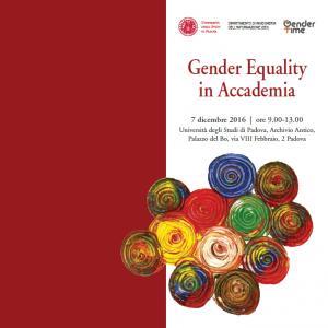 GenderEqualityInAccademia
